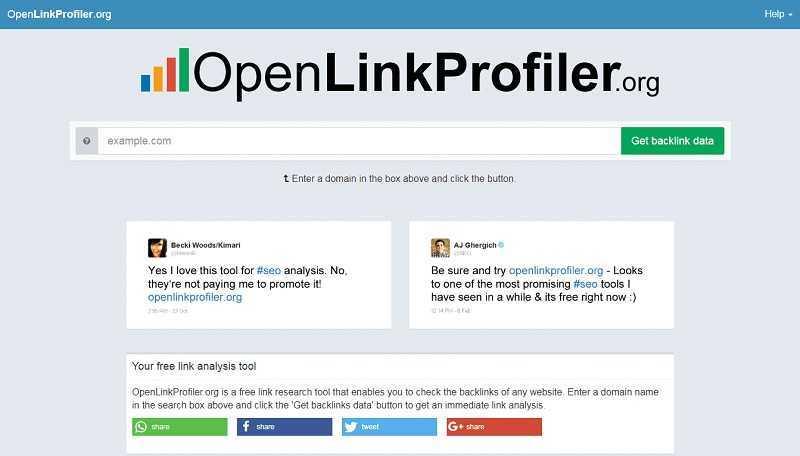 Open Link Profiler cung cấp nhiều hơn những gì bạn tưởng